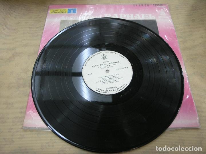 Discos de vinilo: RAPHAEL ALGO MAS DISCOS FUENTES INDUSTRIA COLOMBIANA - Foto 3 - 114835963