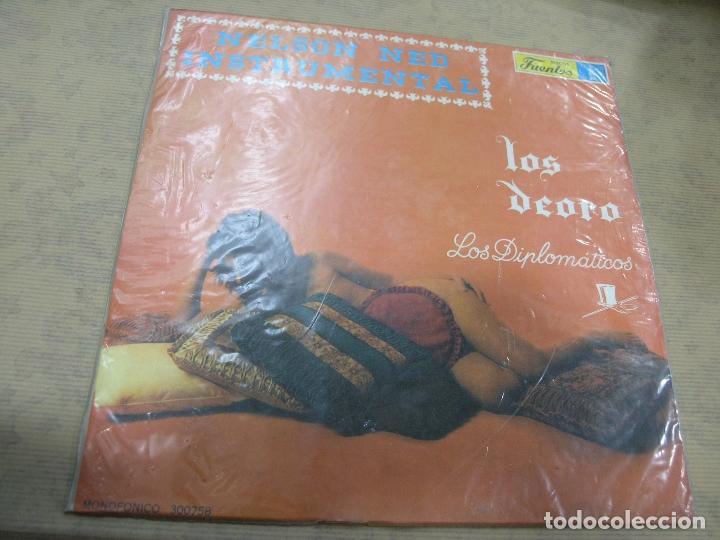 NELSON NED INSTRUMENTAL LOS DEORO LOS DIPLOMÁTICOS DISCOS FUENTES COLOMBIA (Música - Discos - LP Vinilo - Grupos y Solistas de latinoamérica)