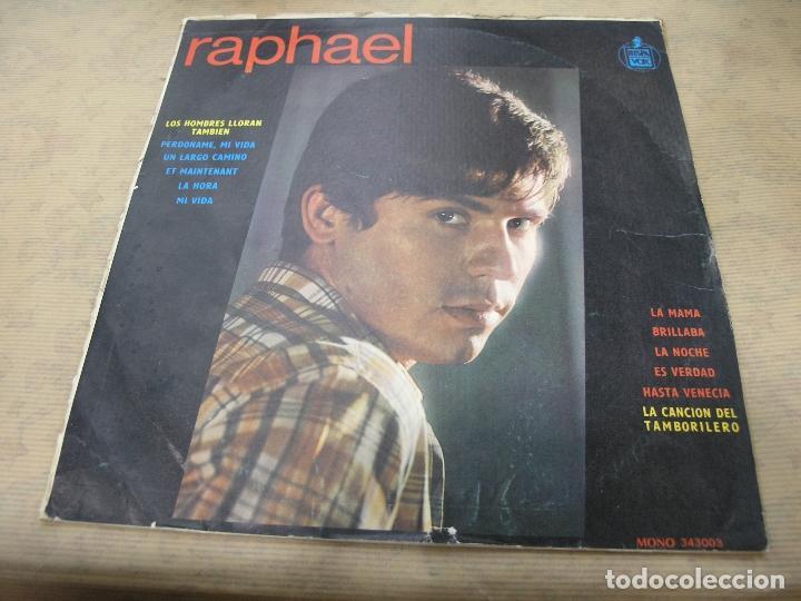 RAPHAEL DISCOS FUENTES COLOMBIA (Música - Discos - LP Vinilo - Solistas Españoles de los 70 a la actualidad)