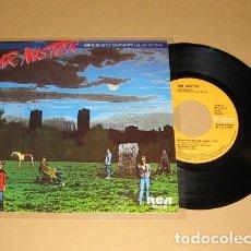 Discos de vinilo: MR.MISTER - ALAS ROTAS - BROKEN WINGS - SINGLE - 1985. Lote 202915097