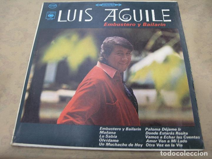 LUIS AGUILE EMBUSTERO Y BAILARÍN CBS COLOMBIA (Música - Discos - LP Vinilo - Grupos y Solistas de latinoamérica)