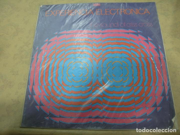 DISCO EXPERIENCIA ELECTRÓNICA THE SOUND OF CRISS CROSS CODISCOS COLOMBIA (Música - Discos - LP Vinilo - Otros estilos)