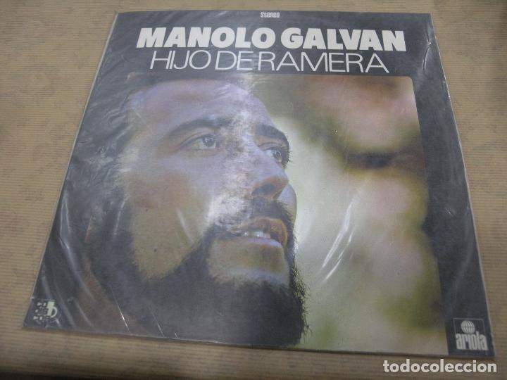 DISCO MANOLO GALVAN HIJO DE RAMERA ARIOLA CODISCOS COLOMBIA (Música - Discos - LP Vinilo - Grupos y Solistas de latinoamérica)