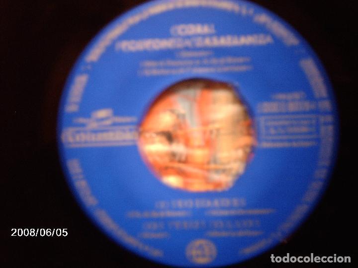 Discos de vinilo: coral polifonica casablanca de vigo - pelouro + terra meiga + soidades + os teus ollos - Foto 3 - 114841335