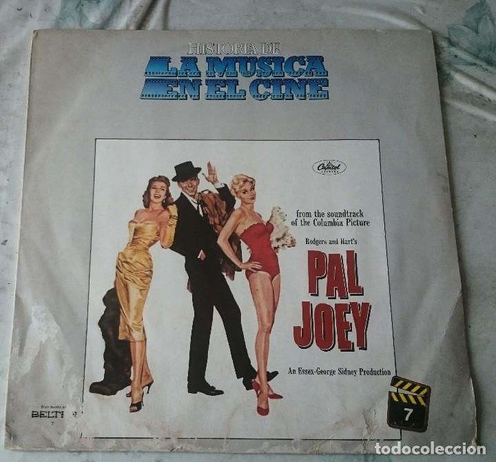 HISTORIA DE LA MÚSICA EN EL CINE 7: PAL JOEY (CAPITOL EMI ODEON BELTER 1982) (Música - Discos - LP Vinilo - Bandas Sonoras y Música de Actores )