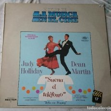 Discos de vinilo: HISTORIA DE LA MÚSICA EN EL CINE 17: SUENA EL TELÉFONO (CAPITOL EMI ODEON BELTER 1982). Lote 114852935