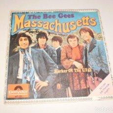 Vinyl-Schallplatten - single the bee gees. massachusetts. barker of the ufo. polydor 1967 spain (disco probado y bien) - 114863375