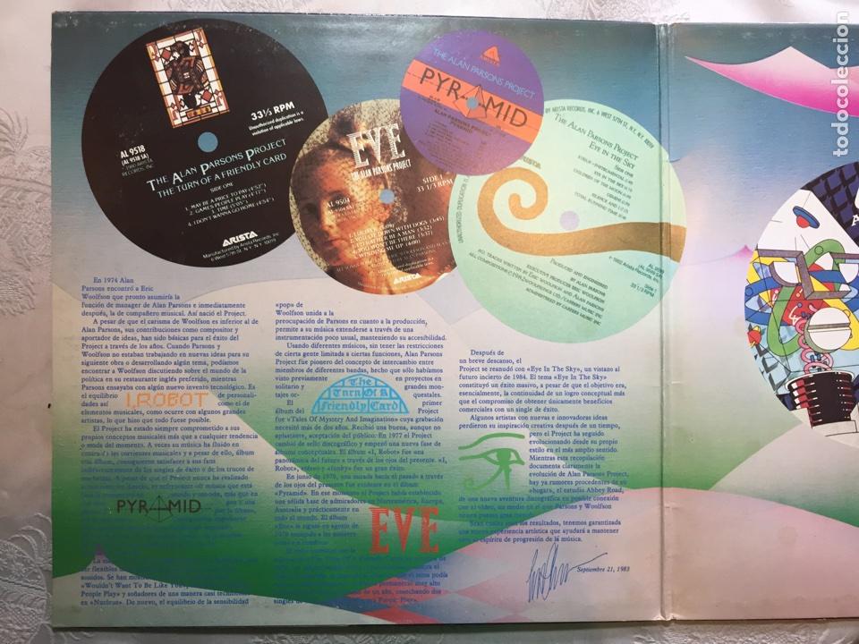 Discos de vinilo: Lp: The Best of, The Alan parsons project. - Foto 2 - 114868375