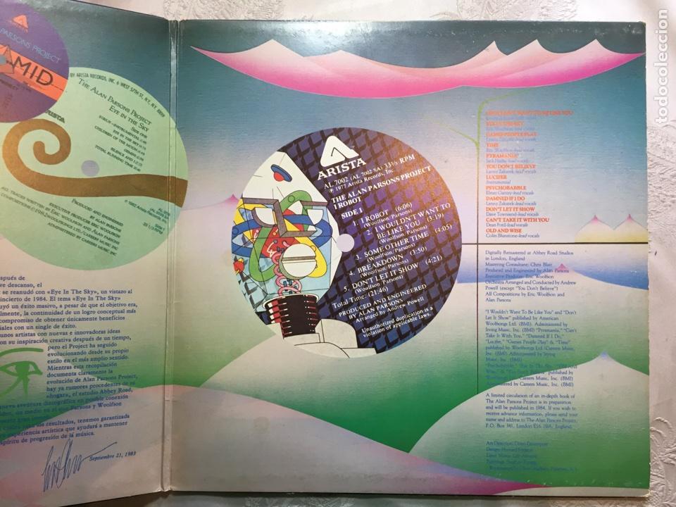 Discos de vinilo: Lp: The Best of, The Alan parsons project. - Foto 3 - 114868375