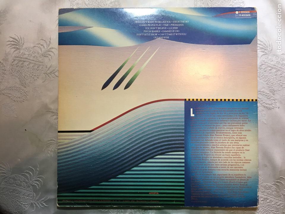 Discos de vinilo: Lp: The Best of, The Alan parsons project. - Foto 4 - 114868375