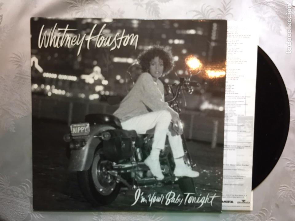 LP: WHITNEY HOUSTON, I'N YOUR BABY TONIGHT. (Música - Discos - LP Vinilo - Pop - Rock - New Wave Extranjero de los 80)