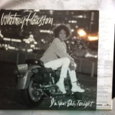 Discos de vinilo: LP: WHITNEY HOUSTON, I'N YOUR BABY TONIGHT.. Lote 114871796