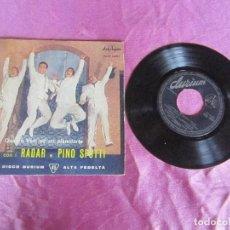 Discos de vinilo: CUARTETO RADAR Y PINO SPOTTI CAMPANE DI SANTA LUCIA ...EP VINILO 1963. Lote 114872259
