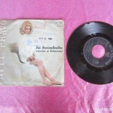 Discos de vinilo: PÀTTY BRAVO LA BAMBOLA PROMOCINAL .EP VINILO. Lote 114873639