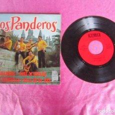 Discos de vinilo: LOS PANDEROS `GUANTANAMERA OJOS DE ESPAÑA OLE OLE ... 1971 . VINILO. Lote 114876515