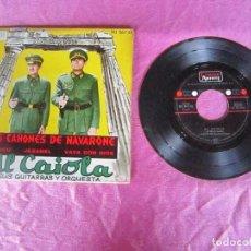 Discos de vinilo: AL CAIOLA SUS GUITARRAS Y ORQUESTA - LOS CAÑONES DE NAVARONE / MEXICO / JEZABEL / VAYA CON DIOS..EP. Lote 114877283