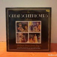 Discos de vinilo: THE GREAT SCREEN LOVERS. Lote 114886751