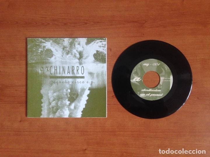 SR CHINARRO – PEQUEÑO CIRCO EP (ACUARELA DISCOS 1993) (Música - Discos - Singles Vinilo - Grupos Españoles de los 90 a la actualidad)