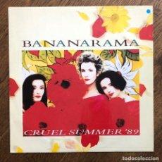Discos de vinilo: BANANARAMA – CRUEL SUMMER '89. Lote 114892183