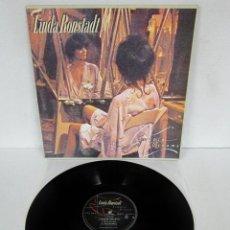 Discos de vinilo: LINDA RONSTADT - SIMPLE DREAMS - LP - ASYLUM 1977 USA GE104 GATEFOLD + LETRAS. Lote 114903183