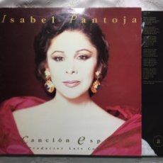 Discos de vinilo: LP: ISABEL PANTOJA, LA CANCIÓN ESPAÑOLA.(PRODUCTOR LUIS COBOS).. Lote 114903872