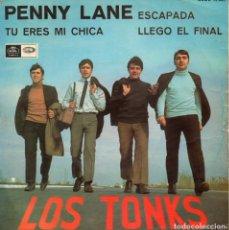 Discos de vinilo: LOS TONKS, EP, PENNY LANE + 3, AÑO 1967. Lote 114906887