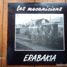 Discos de vinilo: LES MECANICIENS - ERABAKIA. Lote 114908263