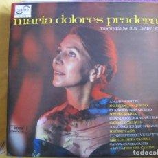 Disques de vinyle: LP - MARIA DOLORES PRADERA CON LOS GEMELOS - MISMO TITULO (SPAIN, ZAFIRO 1972). Lote 114910287