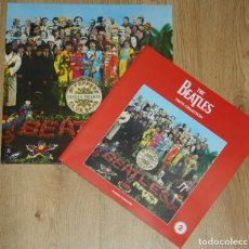 Discos de vinilo: THE BEATLES SGT PEPPER'S 180G LP NEW DEAGOSTINI VINYL SPAIN #2 WITH MAGAZINE. Lote 114910359