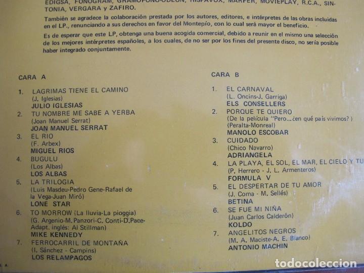 Discos de vinilo: LP - RECITAL HITS ESPAÑOLES - VARIOS (SPAIN, PHILIPS 1969, VER FOTO ADJUNTA) - Foto 2 - 114910471