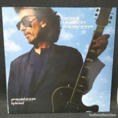 Discos de vinilo: GEORGE HARRISON - BEATLES - GOT MY MIND SET ON YOU- MAXISINGLE- ESPAÑA- 1987. Lote 114912087