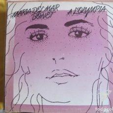 Discos de vinilo: LP - MARIA DEL MAR BONET - A L'OLYMPIA (SPAIN, ARIOLA 1978, PORTADA DOBLE). Lote 114912995