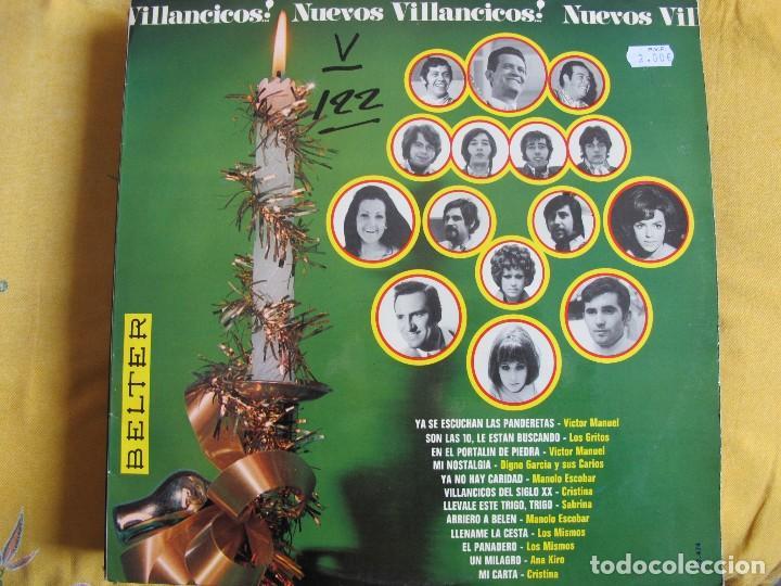 LP - NUEVOS VILLANCICOS - VARIOS (SPAIN, BELTER 1970) VER FOTO ADJUNTA (Música - Discos - LP Vinilo - Grupos Españoles 50 y 60)