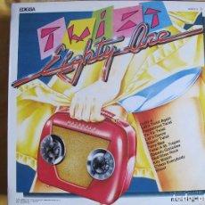 Discos de vinilo: MAXI - TWIST EIGHTY ONE - MEDLEY / HE'S JUST A YOYO (SPAIN, EDIGSA 1982). Lote 114924183