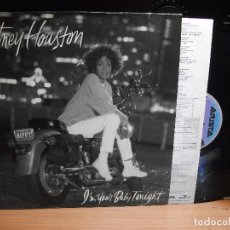Discos de vinilo: WHITNEY HOUSTON I'M YOUR BABY TONIGHT LP 1990 PDELUXE. Lote 114925019
