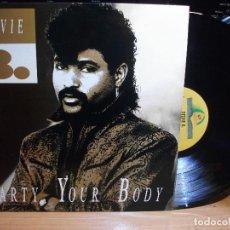 Discos de vinilo: STEVIE B. PARTY YOUR BODY LP SPAIN 1988 PDELUXE. Lote 114926567
