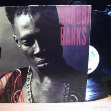 Discos de vinilo: SHABBA RANKS ASRAW AS EVER LP HOLANDA 1991 PDELUXE. Lote 114926791