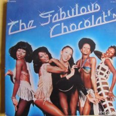 Discos de vinilo: LP - CHOCOLAT'S - THE FABULOUS CHOCOLAT'S (SPAIN, NOVOLA 1978, PORTADA DOBLE). Lote 246642035