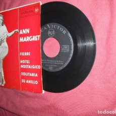 Dischi in vinile: ANN MARGRET - FIEBRE + 3 (EP SPAIN RCA 1963 -SPA. Lote 114082499