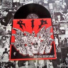 Discos de vinilo: RIP LP NO TE MUEVAS! BASATI DISKAK 1ª EDICIÓN 1987 INCLUYE ENCARTE PÓSTER. Lote 114931251