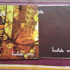 Discos de vinilo: M-AK LP BARKATU AMA 1989 CON ENCARTE LETRAS. Lote 114932047
