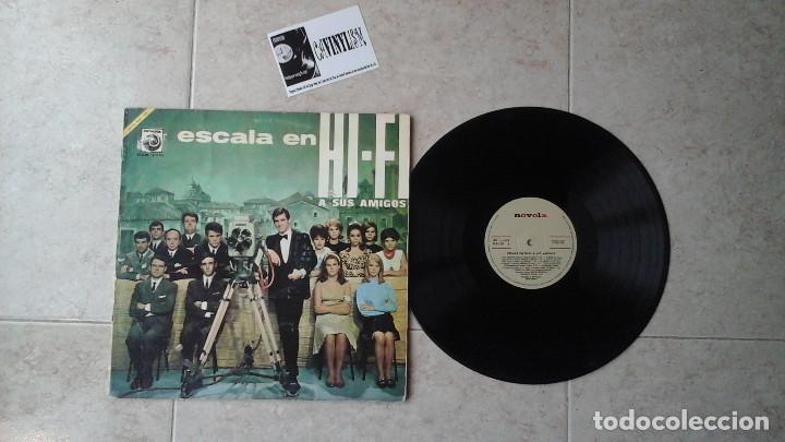 ESCALA EN HI FI / LP / NOVOLA 1966 (Música - Discos - LP Vinilo - Bandas Sonoras y Música de Actores )