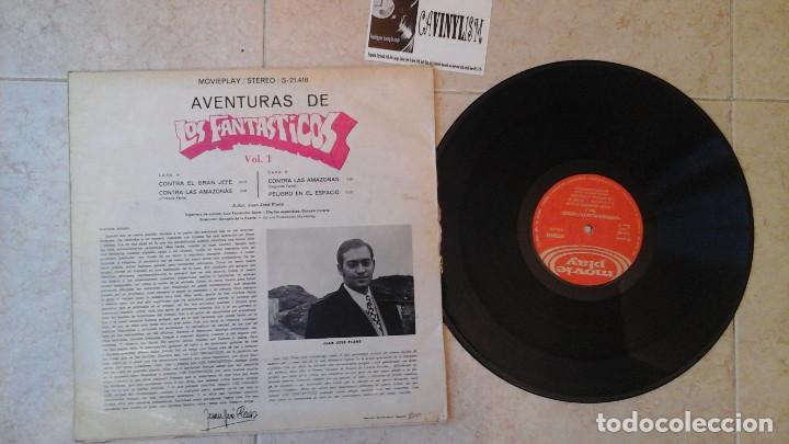 Discos de vinilo: Las aventuras de los Fantásticos LP Raro - Foto 3 - 114939075