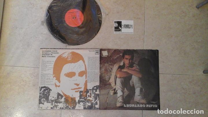 LEONARDO FAVIO VINILO LP FIRMADO POR LEONARDO FAVIO (Música - Discos - LP Vinilo - Grupos y Solistas de latinoamérica)