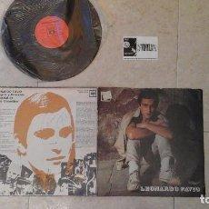 Discos de vinilo: LEONARDO FAVIO VINILO LP FIRMADO POR LEONARDO FAVIO. Lote 114940095