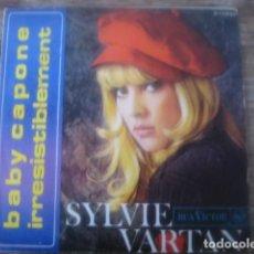 Discos de vinilo: SYLVIE VARTAN - BABY CAPONE ************* RARO SINGLE ESPAÑOL 1968. Lote 114951347