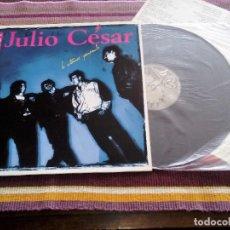 Discos de vinilo: YO SOY JULIO CESAR -LO ESTAMOS PENSANDO -LP 1989 INCLUYE ENCARTE LETRAS I CONCURSO VILLA DE BILBAO. Lote 114961219