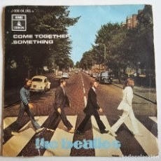 Discos de vinilo: THE BEATLES COME TOGETHER SOMETHING - SPAIN 1969 - 45 RPM. Lote 114962395