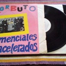 Discos de vinilo: ESKORBUTO, LOS DEMENCIALES CHICOS ACELERADOS. DOBLE LP DISCOS SUICIDAS 1987. Lote 114962555