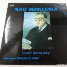 Discos de vinilo: NAO SENLLEIRA-FERNANDO SOTO-LP-FERMIN BOUZA REY-DIA DAS LETRAS GALEGAS-EDISCO-EDL 18.050. Lote 114963895